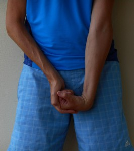 Underarm dorsalt